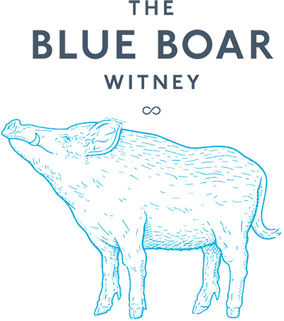Blue Boar in Witney Logo